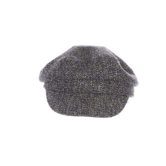 c46320e294c64 Nine West Gray Tweed Flat Cap
